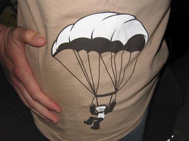 Tankmen Parachute Shirt