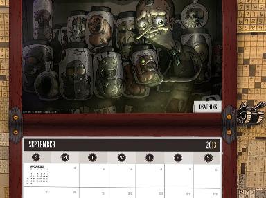 2013 NG Calendar