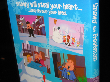 Snowy the Frostman DVD