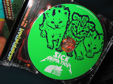 Sick Animation CD