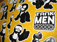 Tankmen Stickers