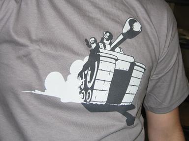 Tankmen Chase Shirt