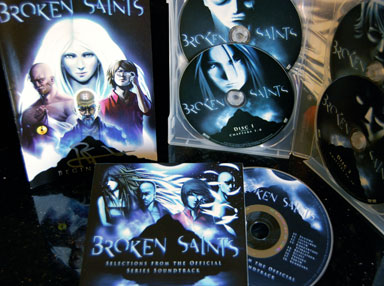 Broken Saints DVD