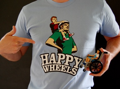 Happy Wheels Shirt