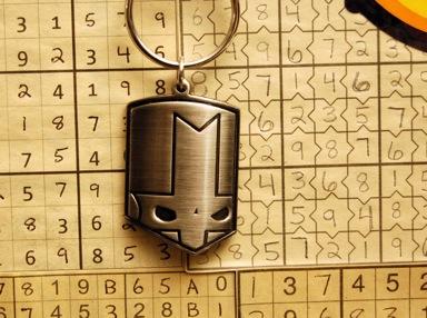 Knight Keychain