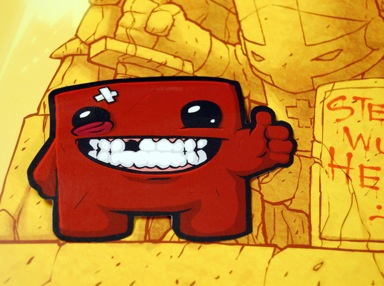 Meatboy Stickers