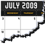 2009 NG Calendar