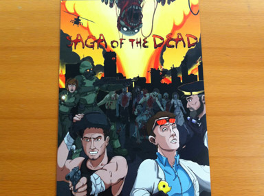 Saga of the Dead Poster