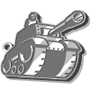 Tank Keychain