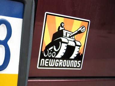 NG Logo Stickers