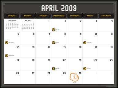 2009 NG Calendar
