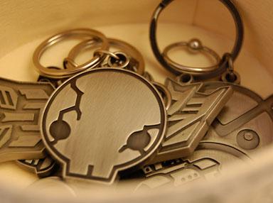 Dad 'n' Me Keychain
