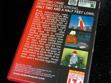 John's Arm DVD