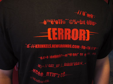 Madness Error Shirt