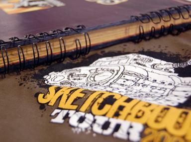 Sketchbook Tour 2008