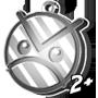 Angry Faic Keychain