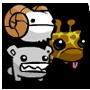 Giraffey Charm Pack