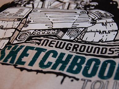 Sketchbook Tour Shirt