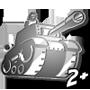 Tank Keychain